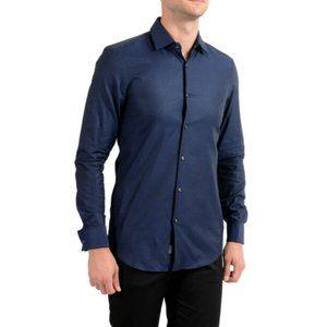 Hugo Boss JAC Slim Fit Plaid Shirt~16